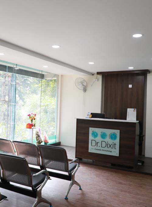 Reception - Dr. Dixit Cosmetic Dermatology Clinic
