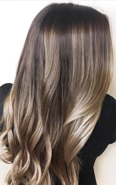 apply tea on hair